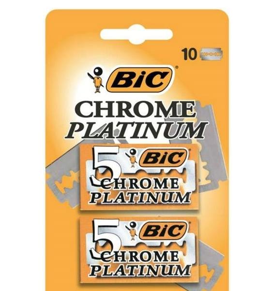 BIC Chrome Platinum 10un