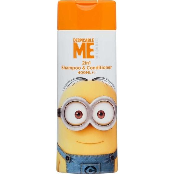 Despicable Me 2 em 1 Shampoo+Cond 400 ml