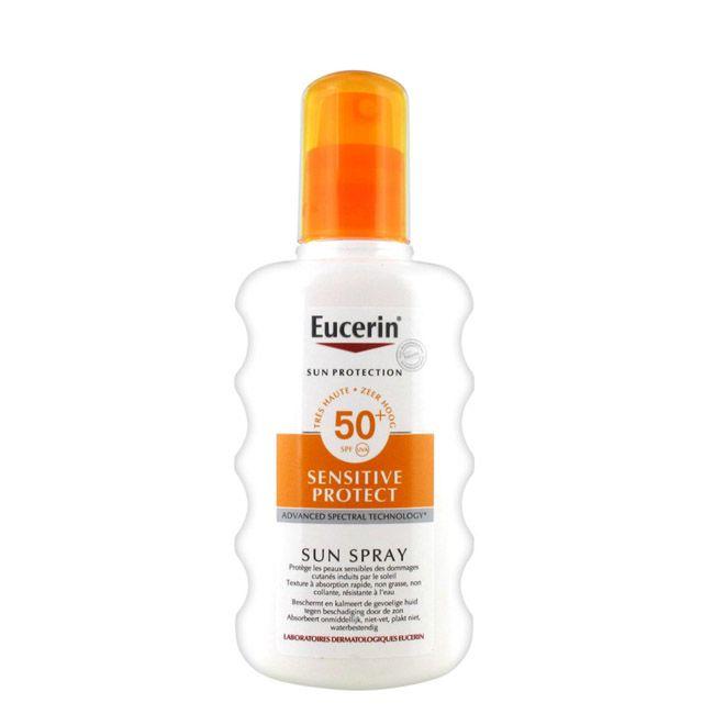 Eucerin SunBody Spray Sentitive 50+ 200ml