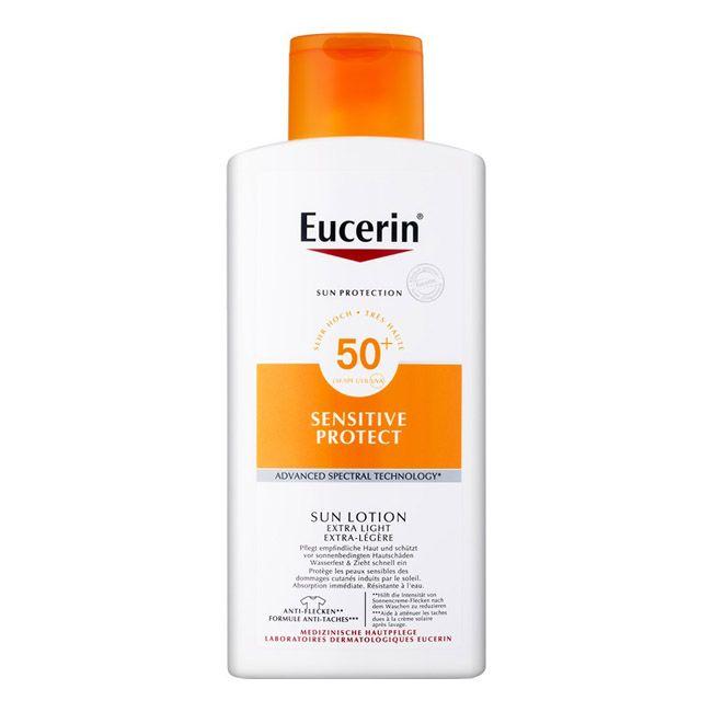Eucerin SunSensitive Protecão Extra Light SPF50+ Loção Solar 400ml