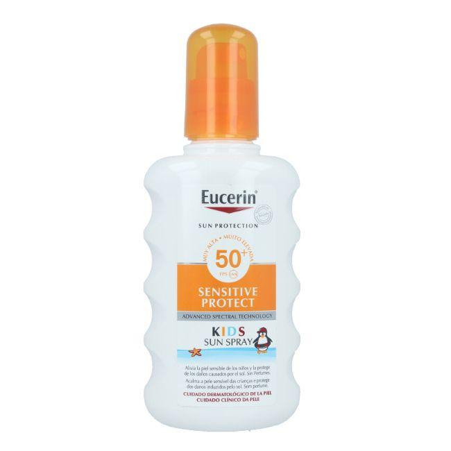 Eucerin Sun Kids Sensitive Protect SPF50+ Spray Solar 200ml
