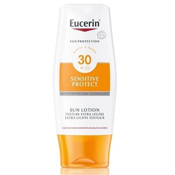 Eucerin Sensitive Protect Loção Extra Light SPF30 150 ml com Desconto de 20%