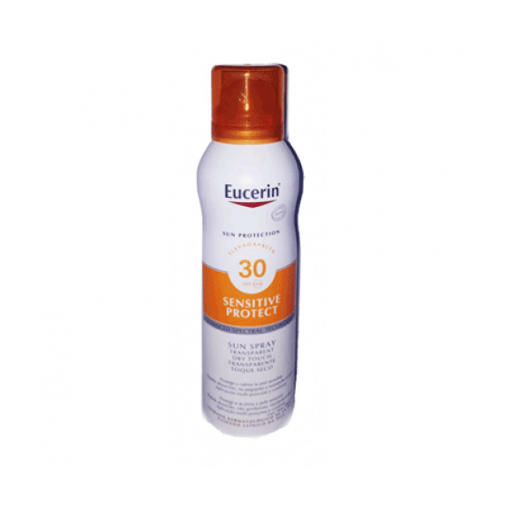 Eucerin Sensitive Protect Spray Toque Seco SPF30 200 ml com Desconto de 20%