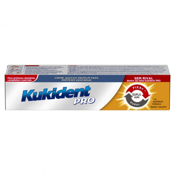 Kukident Pro  Cr Dupla Accao Protes 40g
