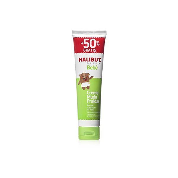 Halibut Muda Fraldas Creme 100 g com Oferta de 50%