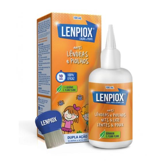 Lenpiox Loção piolhos 100ml+Pente