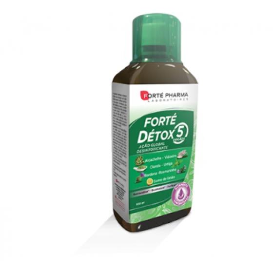 Forte Detox 5 Orgaos Sol 500Ml