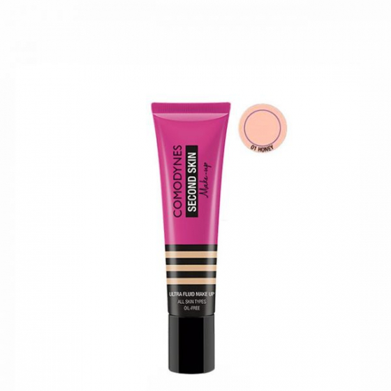 Comodynes Second Skin Emul Fl 01 Honey30ml