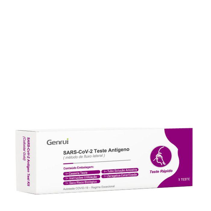 Autoteste Antigénio Teste Rápido Covid-19 (SARS-COV-2) Nasal *1unidade