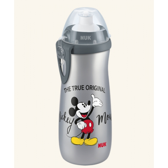 Nuk Sports Cup Mickey Silver