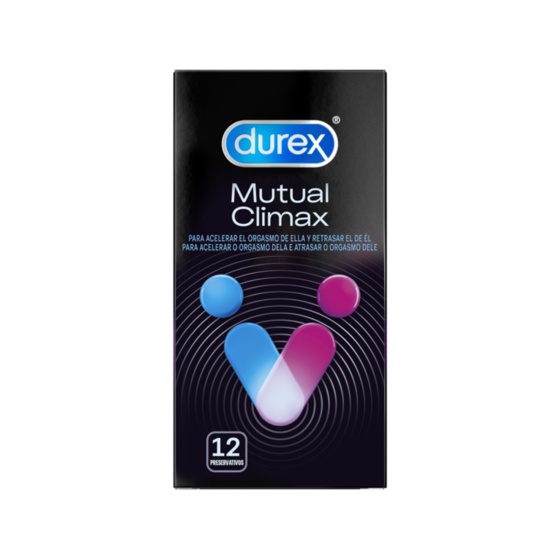 Durex Mutual Climax Preservativo X12