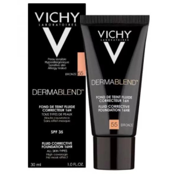 Vichy Dermablend 55 Fondteint Fl Fp35 30ml