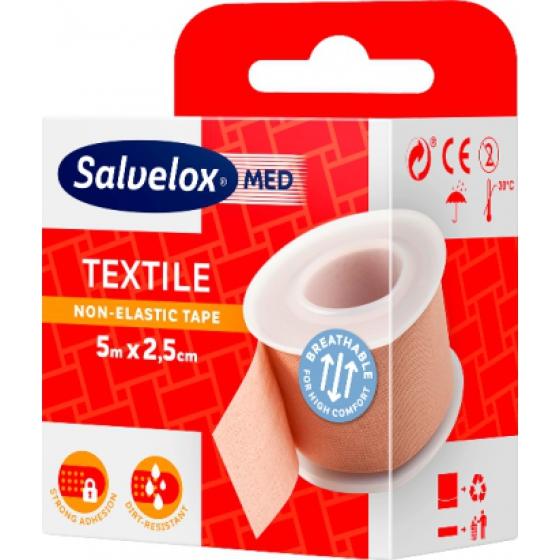Salvelox Adesivo Ades Tx 5m X2,5cm Carne