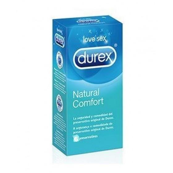Durex Natural Plu Preservativo X6