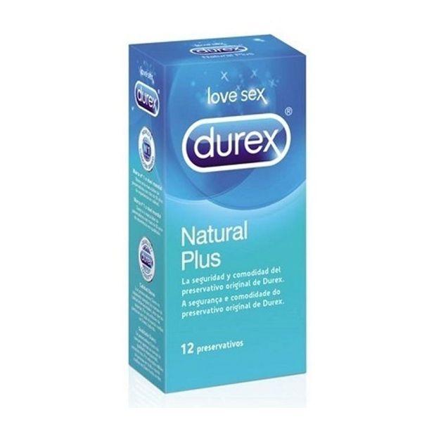Durex Natural Plu Preservativo X12