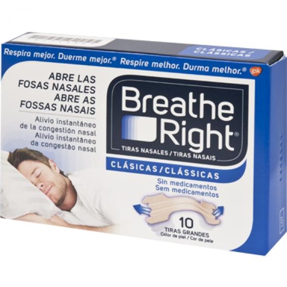 Breathe Right Penso Nasal Gde X 10