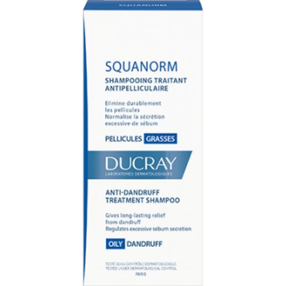 Ducray Squanorm Ch Caspa Oleosa 200ml