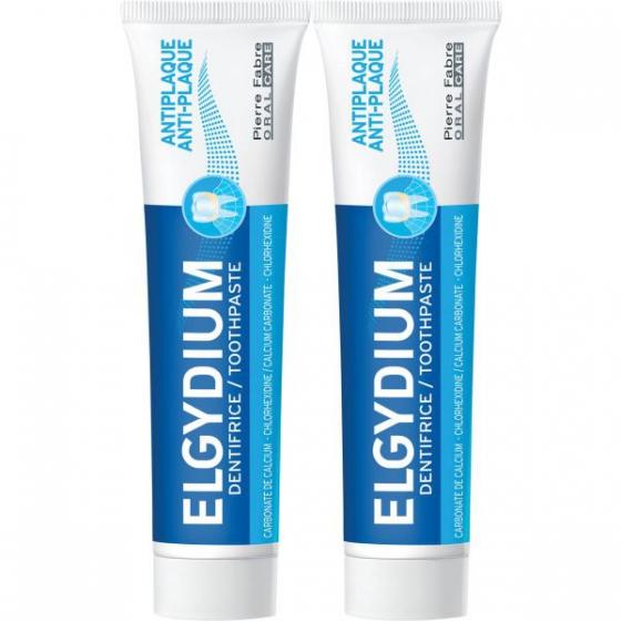 Elgydium Proteção Gengivas Duo pasta dentífrica 2 x 75 ml