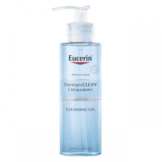 Eucerin Dermatocl Gel Limp Refres 200ml