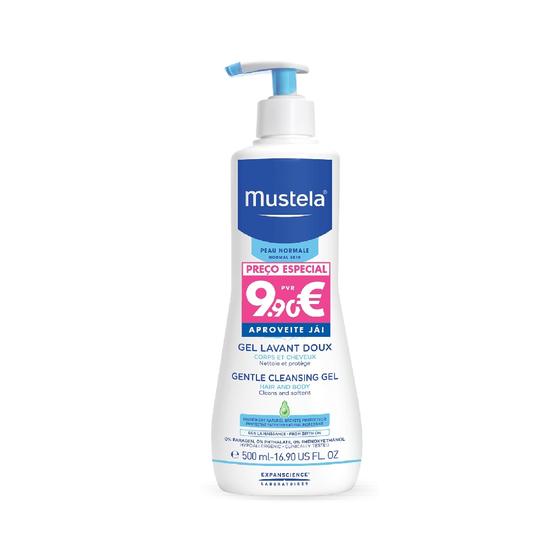 Mustela Bebé Gel Dermo-Lavante 500 ml com Preço especial