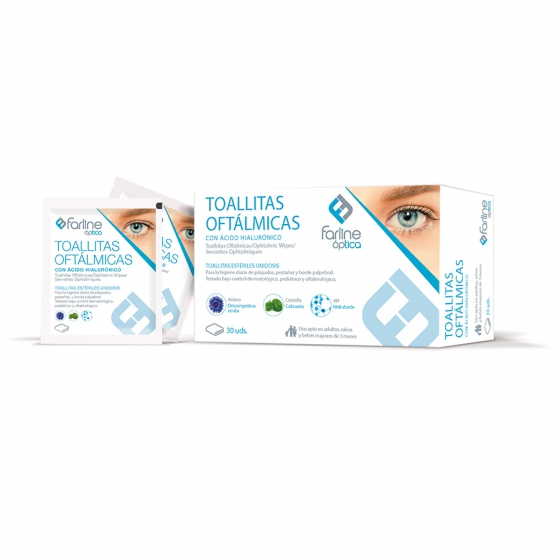 Farline Optica Toalhita Oftal Est X30