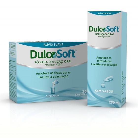 Dulcosoft Po Sol Oral Saq 10 G X 20 pó sol oral saq
