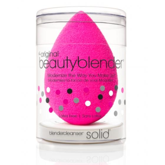 Beautyblender Kit Esponja maquilhagem Original Rosa + Blendercleanser mini sabonete sólido