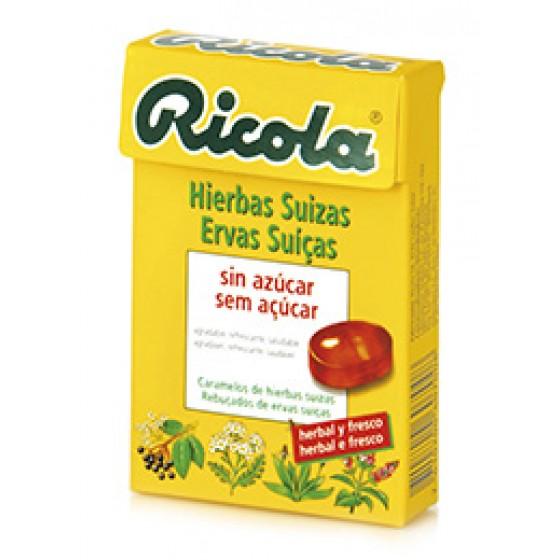 Ricola Reb S/ Ervas Suicas 50 G reb