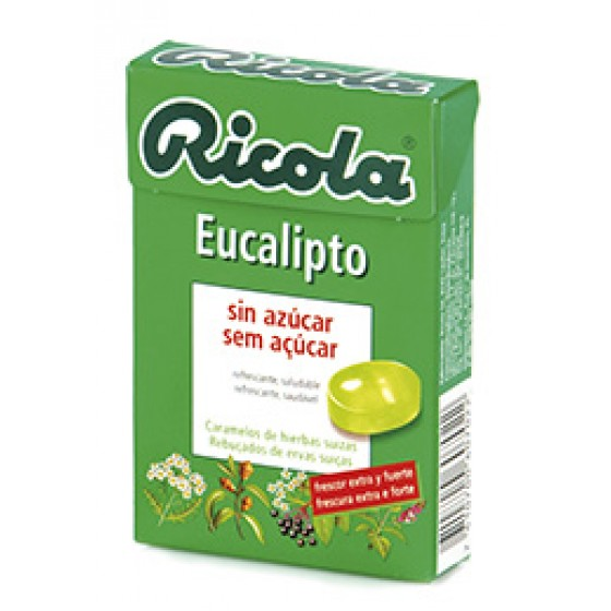 Ricola Reb S/ Eucalipto 50 G