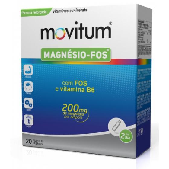 Movitum Magnesio Fos Amp Bebx20 amp beb