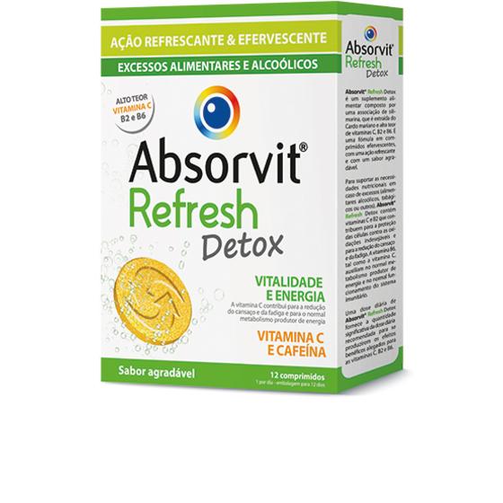 Absorvit Refresh Comp Ef X 12 comps eferv
