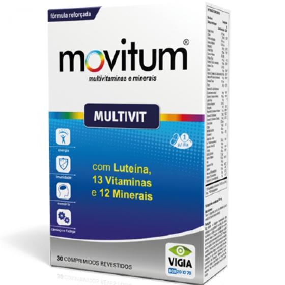 Movitum Multivit Comp X 30 comps rev