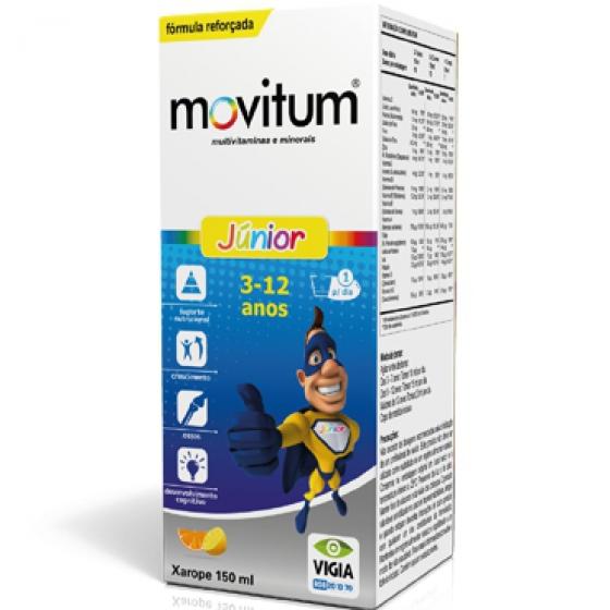 Movitum Junior Xarope 150 Ml xars mL