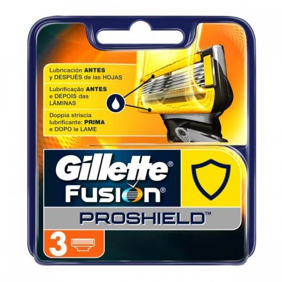 Gillette Fusion Proshield Carregador X3